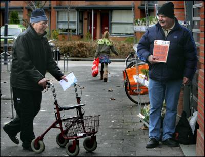Aantal daklozen daalt