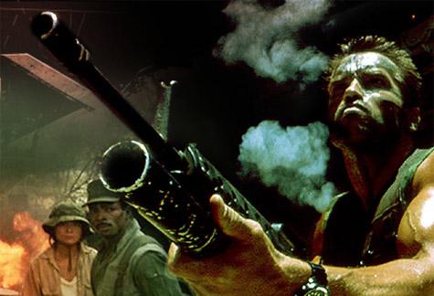 Arnie rookt