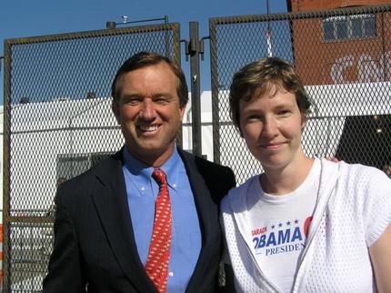 Kirsten met Robert Kennedy Jr