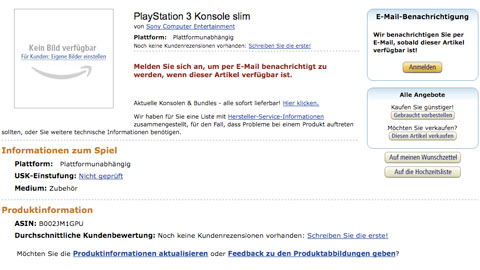 Playstation 3 slim voor 299 euro op Gamescom?