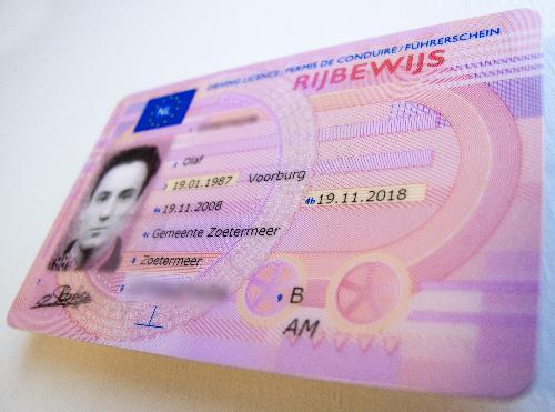 aangifte verlies rijbewijs