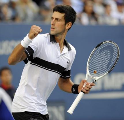 Novak Djokovic naar finale US Open