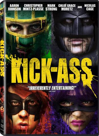 Kick-Ass dvd cover