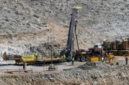 Boor bereikt mijnwerkers Chili