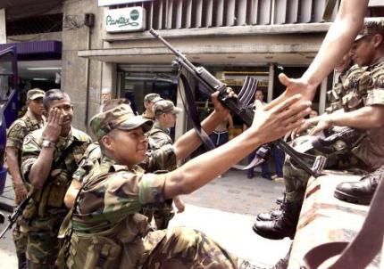 Tientallen wapenleveranciers FARC opgepakt
