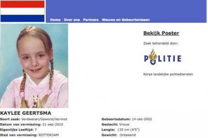 Rotterdams meisje van zeven jaar vermist