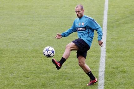 Wesley Sneijder maakt kans op kwakzalverprijs