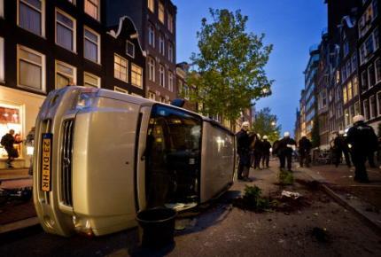 Amsterdam wil schade krakersrellen verhalen