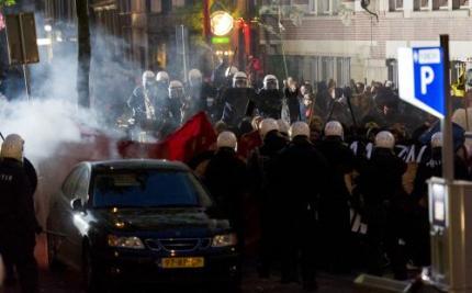 Demonstrante doet aangifte tegen politie