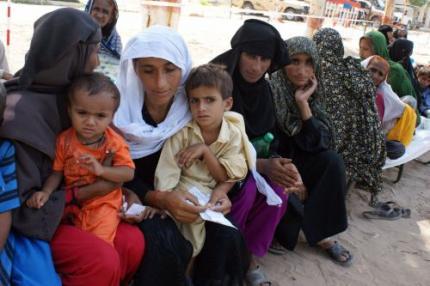 Uitbraak malaria treft rampgebied Pakistan