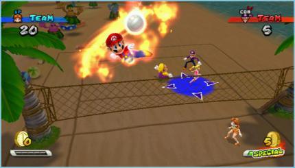 Mario Sports Mix Volleybal