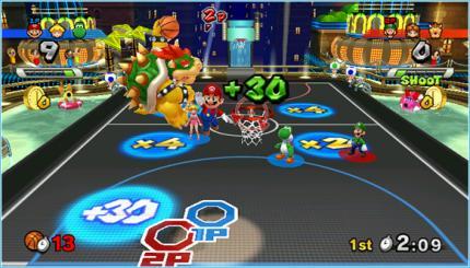 Mario Sports Mix Basketbal
