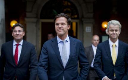 Rutte is'heel zeker' van steun 76 zetels