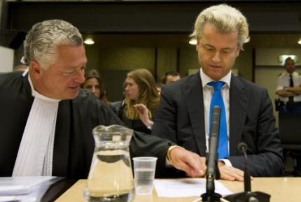 OM formuleert strafeis tegen Geert Wilders