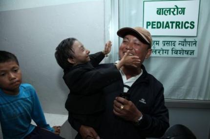 Nepalees kleinste man ter wereld