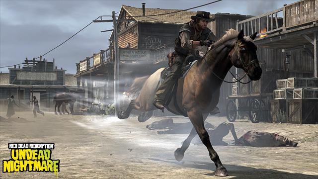 Paardje: dood (RDR)