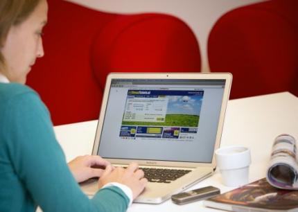 Van Nederlandse bedrijven 84 procent online
