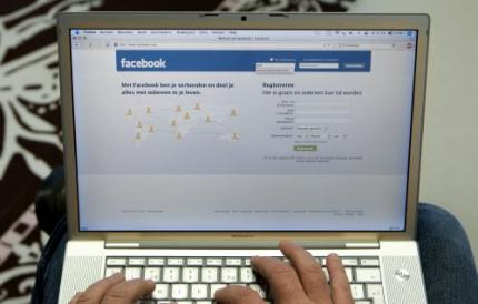 'Facebook sluist informatie door'