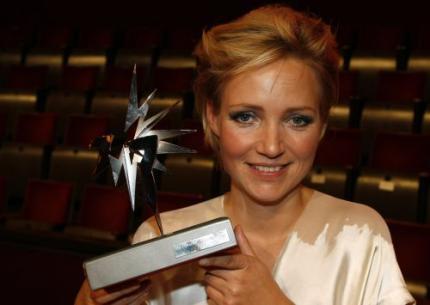 Yvon Jaspers wint Zilveren Televizier-Ster