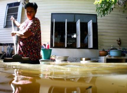 Bangkok zet zich schrap voor water