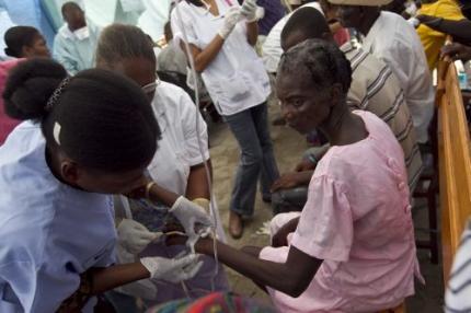 Cholera-epidemie in Haïti zet door