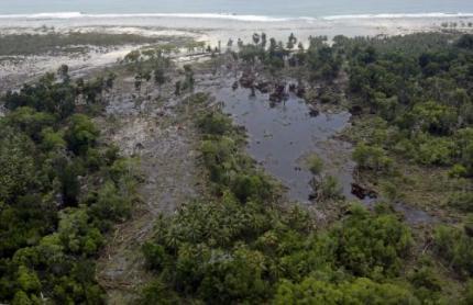 Dodental tsunami Indonesië boven 300