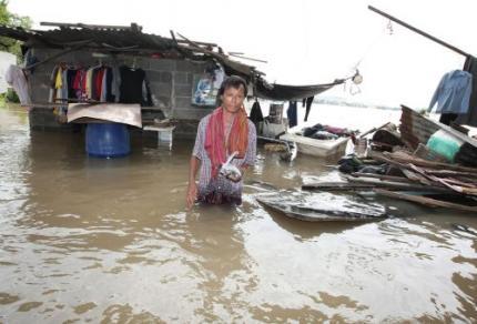 Zeker 94 doden door overstromingen Thailand
