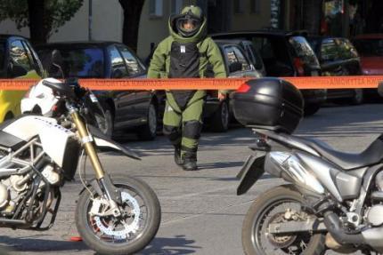 Bomexplosie bij Zwitserse ambassade Athene