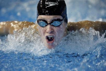 Wereldbekerzege zwemster Schreuder