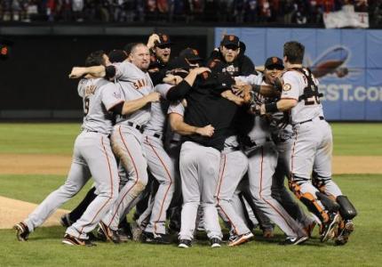 San Francisco Giants winnen World Series