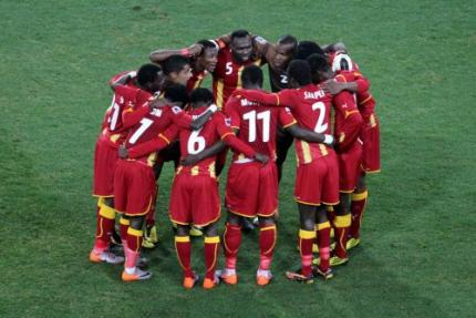 Ghanese voetballers wachten nog op WK-premies