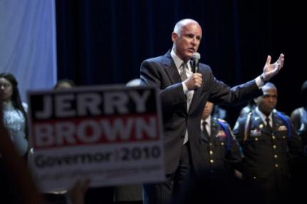 Democraat Brown nieuwe gouverneur Californië