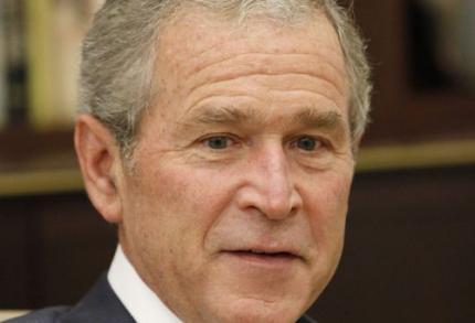 'George Bush liegt in memoires'