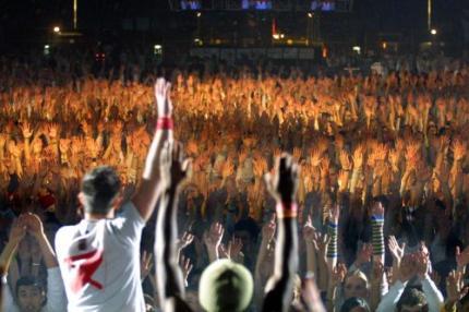 Bijna half miljoen bijeen gedanst tegen aids