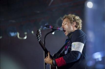 Coldplay speelt op Pinkpop