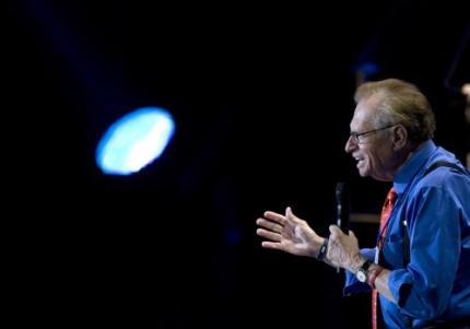 Larry King zet punt achter praatprogramma