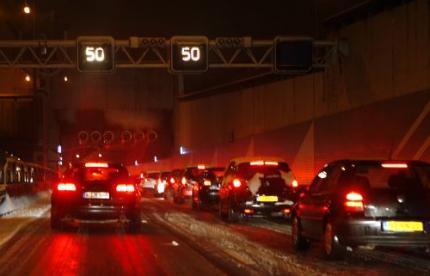 A9 weer open voor verkeer