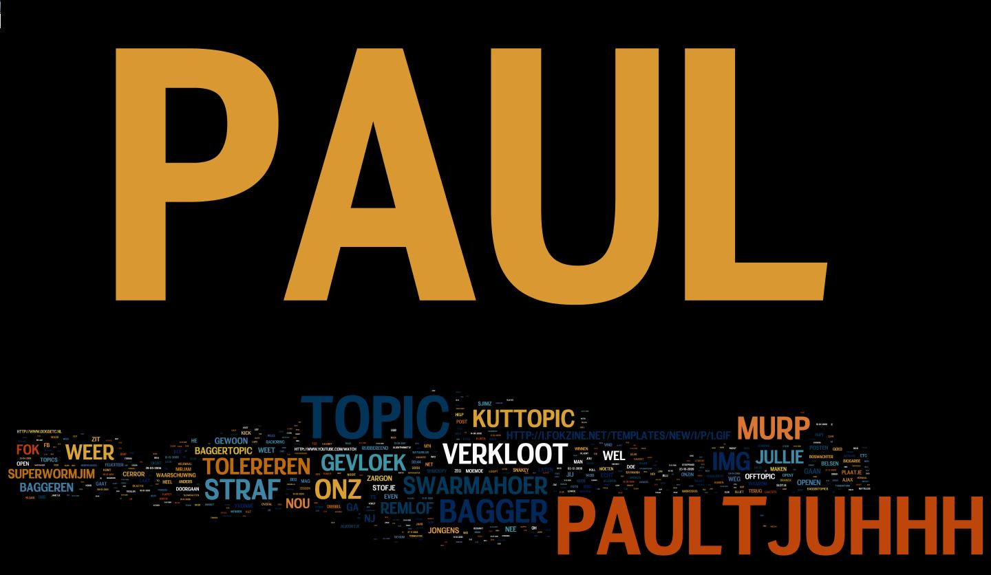 De notes van Paul