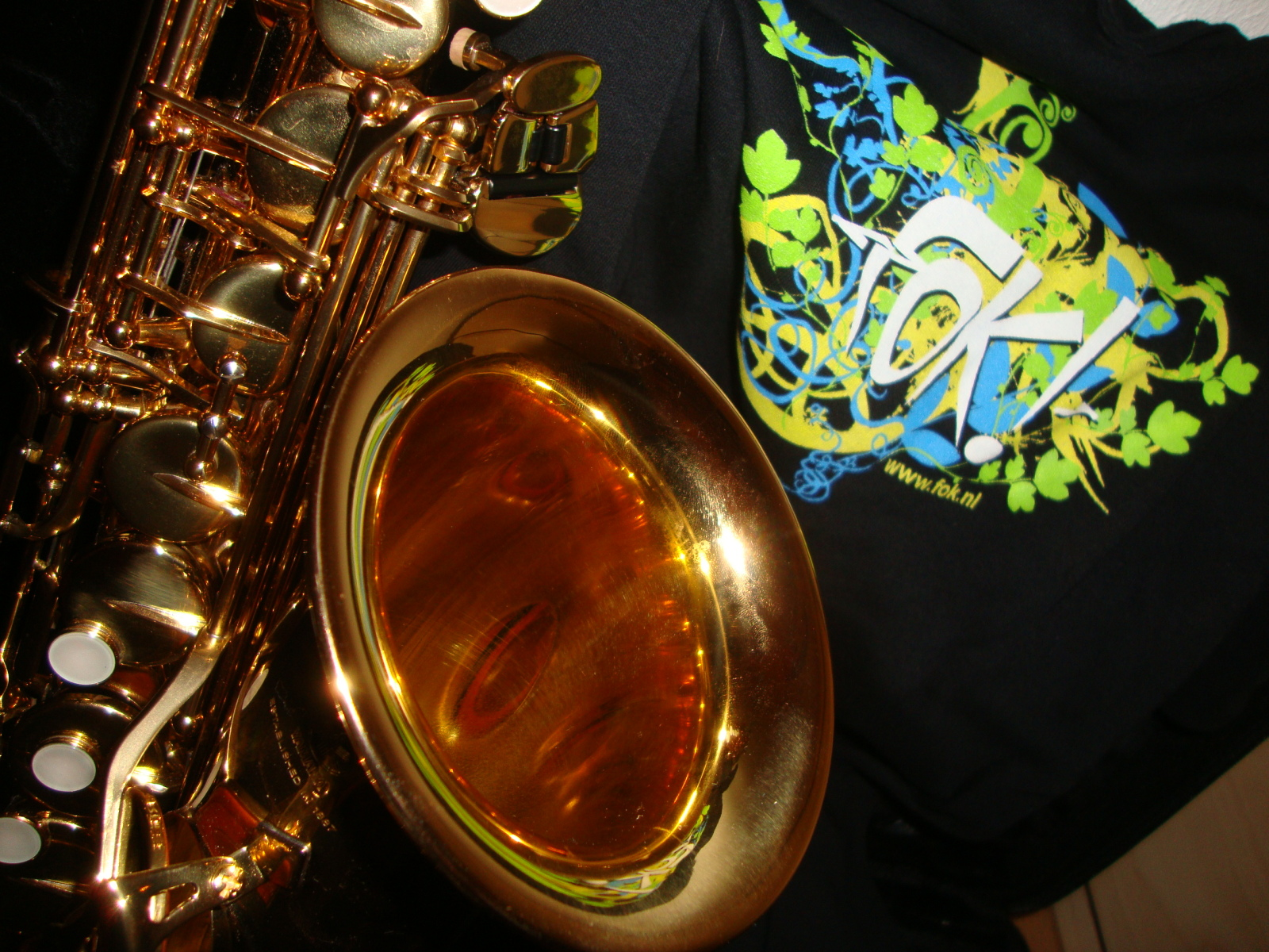 Sax en shirt van Paul