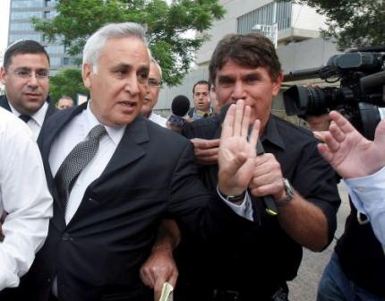 Celstraf ex-president Israël om verkrachting