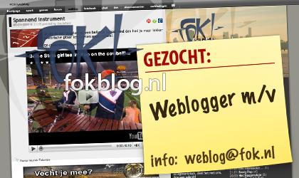 FOK!weblog zoekt bloggers!