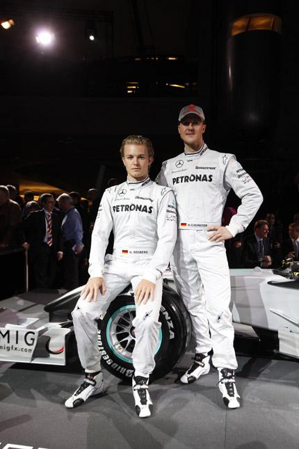 Coureurs Mercedes Grand Prix