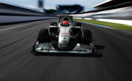 Livery Mercedes Grand Prix 2010