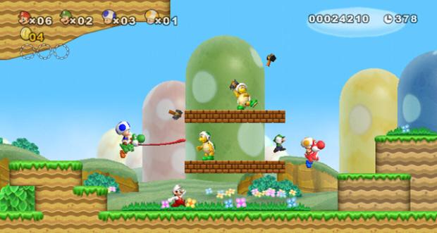 Mario screen