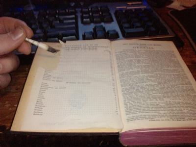 Bijbelsjek