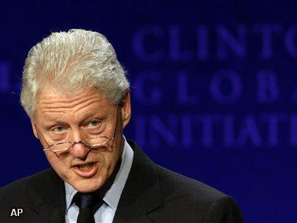 Bill Clinton krijgt stents