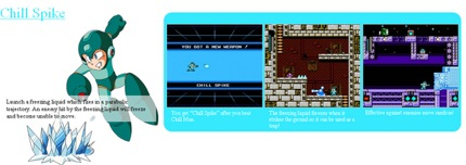 Mega Man 10 Chill Spike