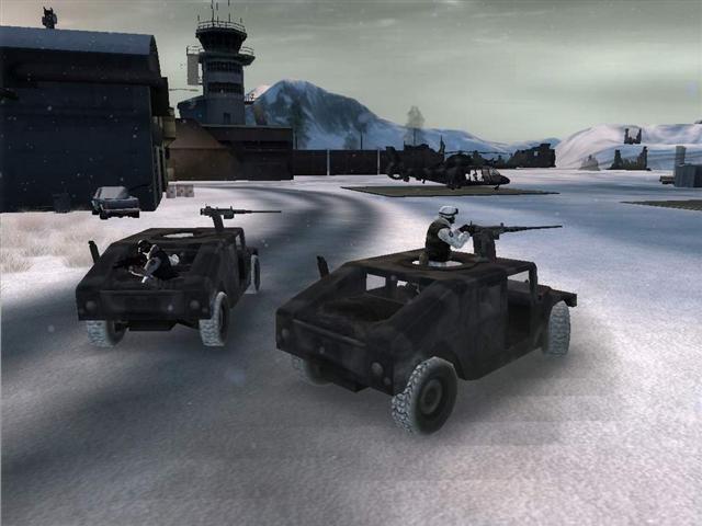 Battlefield 2: Modern Combat op de Xbox