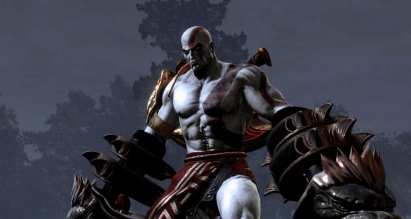 Kratos is altijd boos
