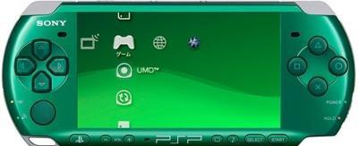 Spirited Green PSP